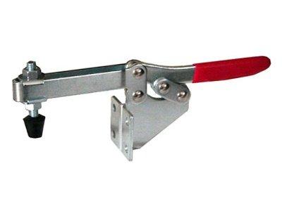 Smoker lid clamp, SIDE mount PUSH 1 BBQ toggle clamps Horizontal