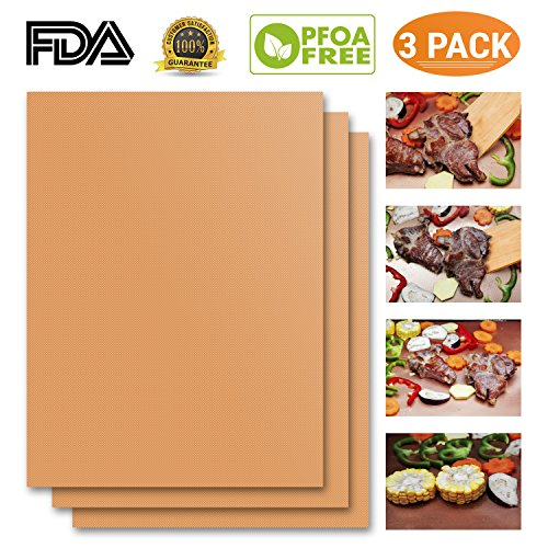 100 Non Stick Bbq Grill Amp Baking Mats As Seen On Tv