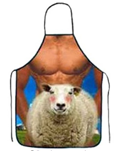 d0d2d96650b One size fits most  Fully adjustable straps let you customize the fit for  comfort. No more guessing at sizes -- this apron will comfortably fit up to  66