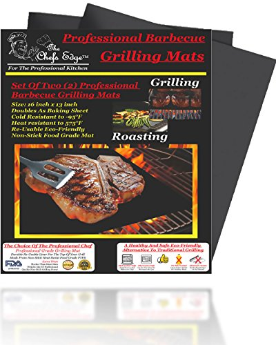 Grill Mat Best Professional Barbecue Bbq Grilling Mats Two