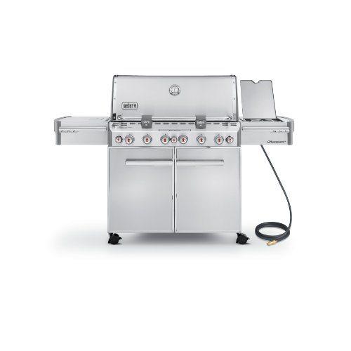 Weber Summit 7470001 S 670 Stainless Steel 769 Square Inch 60 800