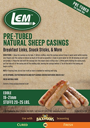 LEM Products 1241 Pre-Tubed Hog Casings – LowerOver
