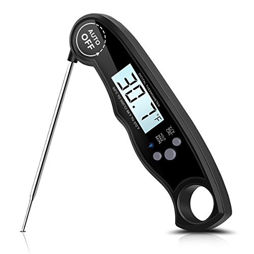 Digital Meat Thermometer Instant Read 3 4s Electronic Waterproof