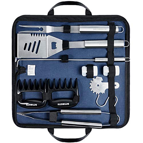 BBQ Tools Set Stainless Steel Barbecue Heavy Duty Grill ...